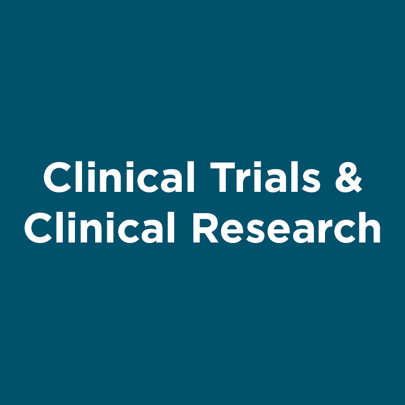 clinical trials and clinical research
