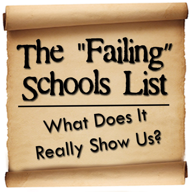 Image result for Failing Schools List