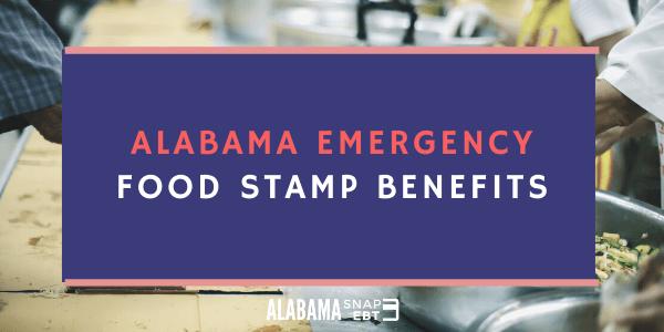 Alabama Emergency Food Stamps