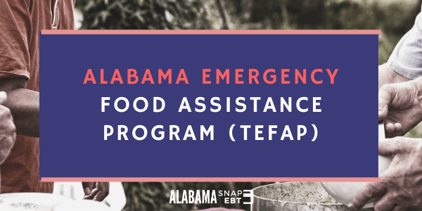 Alabama Emergency Food Assistance Program (TEFAP)