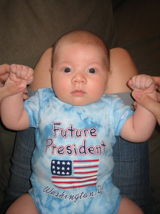 Future President baby