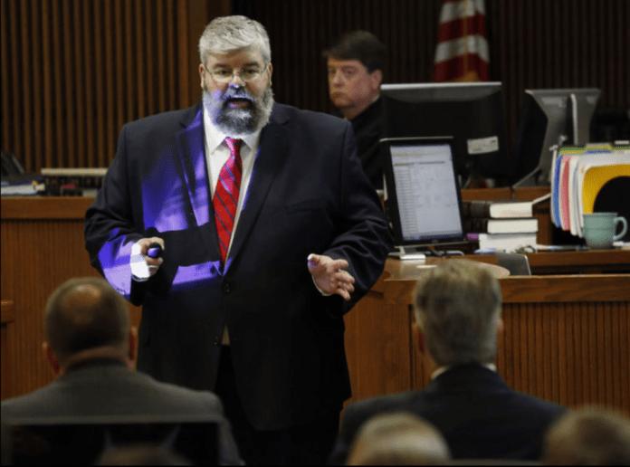 Matt Hart opens Mike Hubbard trial