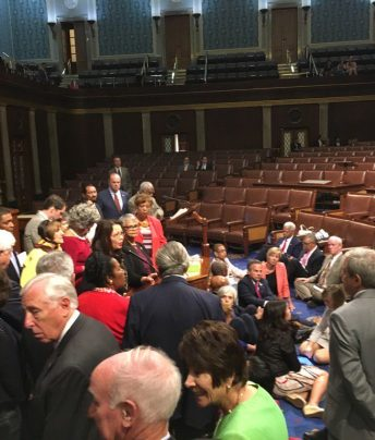 lawmakers stage gun vote sit-in2