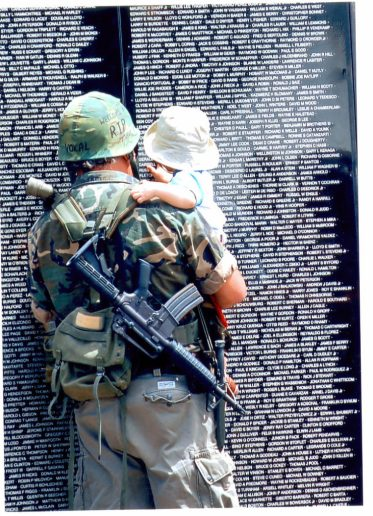 Traveling Vietnam Veterans Memorial Wall1