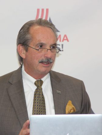 Ed Castille at AlabamaWorks announcement, Tues. Nov. 15, 2016.  [Photo Credit: AlabamaWorks]