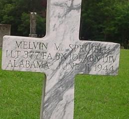 Melvin Spruiell gravestone