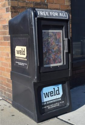 Weld newsbox