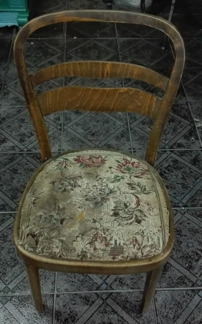 Krzesło art deco do renowacji