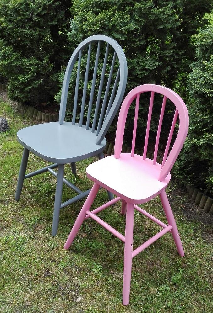 Krzesełko dziecięce z IKEA