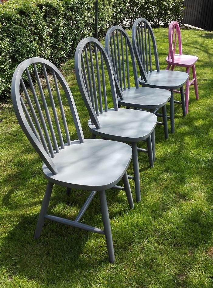 Jak przemalować krzesła z IKEA
