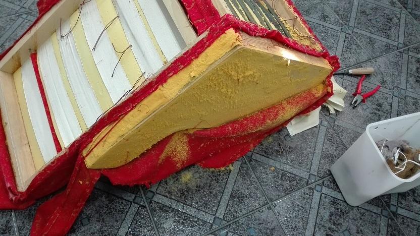 Renowacja fotela uszaka
