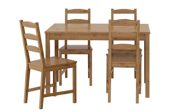 Zestaw: stół i krzesła sosnowe z IKEA