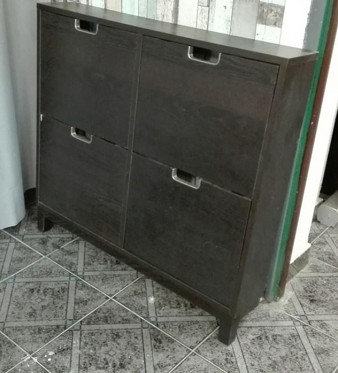 Szafka na buty IKEA ciemny brąz - wenge