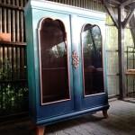 Malowanie szafy z efektem ombre