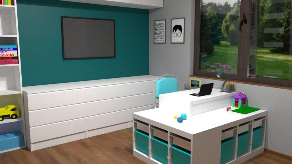Telewizor w pokoju dzieci