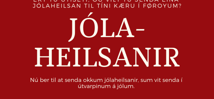 Jólaheilsan til Kringvarpið