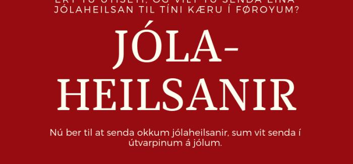 Jólaheilsan til Kringvarp Føroya