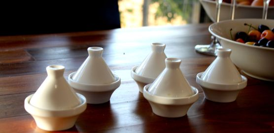 Fun mini-tagine hide a variety of spreads