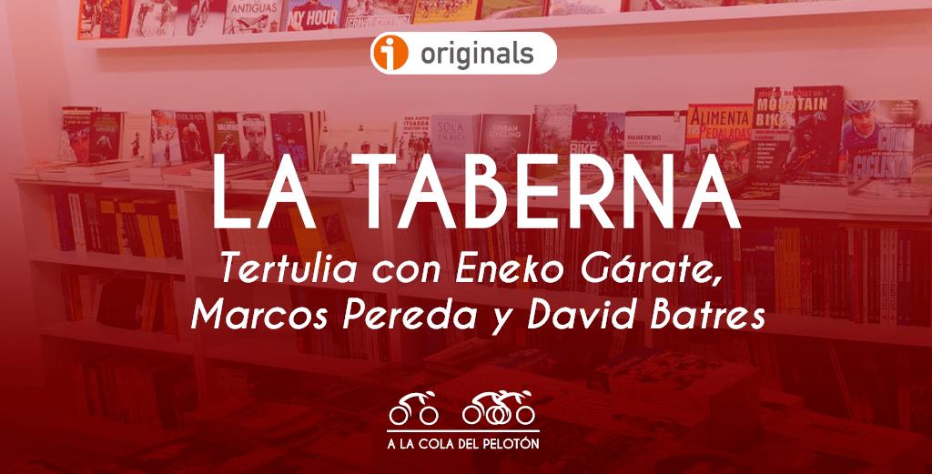 ciclismo podcast literatura libros de ruta eneko garata marcos pereda david batres