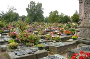 Nürnberg Németország temető temetés biztosítás