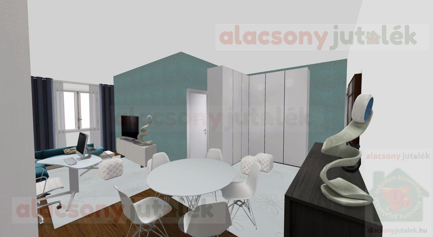 Hogyan lehet egy 1 szoba+hallos lakást két szobássá alakítani?