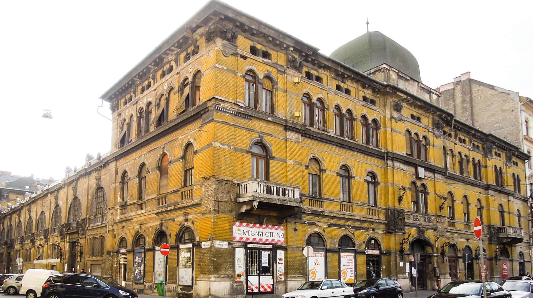 Budapest VI Hunyadi tér csarnok