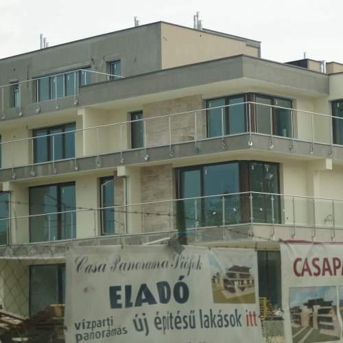 új lakások építése