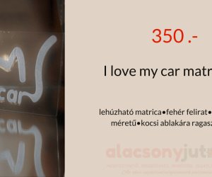 I love my car matrica- 10x15cm-350ft