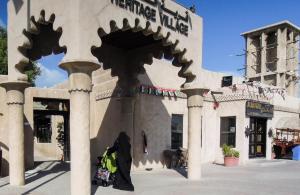 Dubai ingyenes látnivaló skanzen