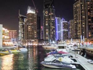 Dubai látnivaló marina