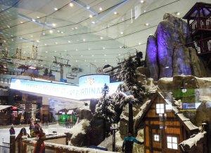 Dubai síelés Emirates Mall