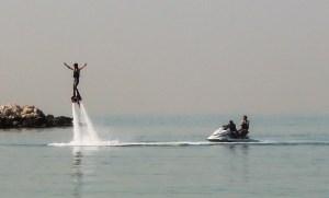 Dubai tenger strand vizisport