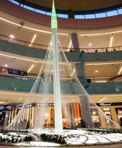 Világ legmagasabb épülete épül Dubaiban
