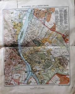 Budapest Régi Térkép 1900 as évek