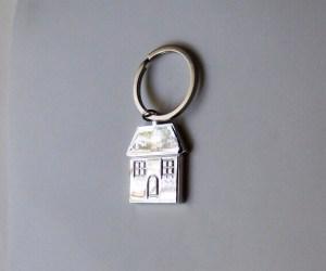 Ház lakás kulcstartó