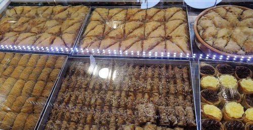 Albánia konyha étel baklava