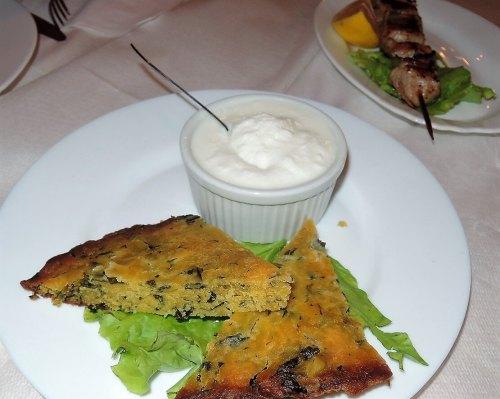 Albánia konyha étel lepény