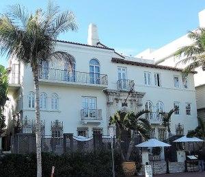 Art Deco negyed Miami Beach Florida Versace