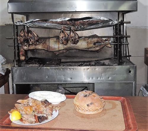 Albánia konyha étel bárány