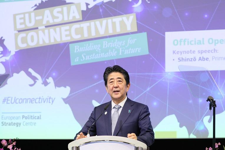 安倍総理はSTSフォーラム第16回年次総会に出席しスピーチ
