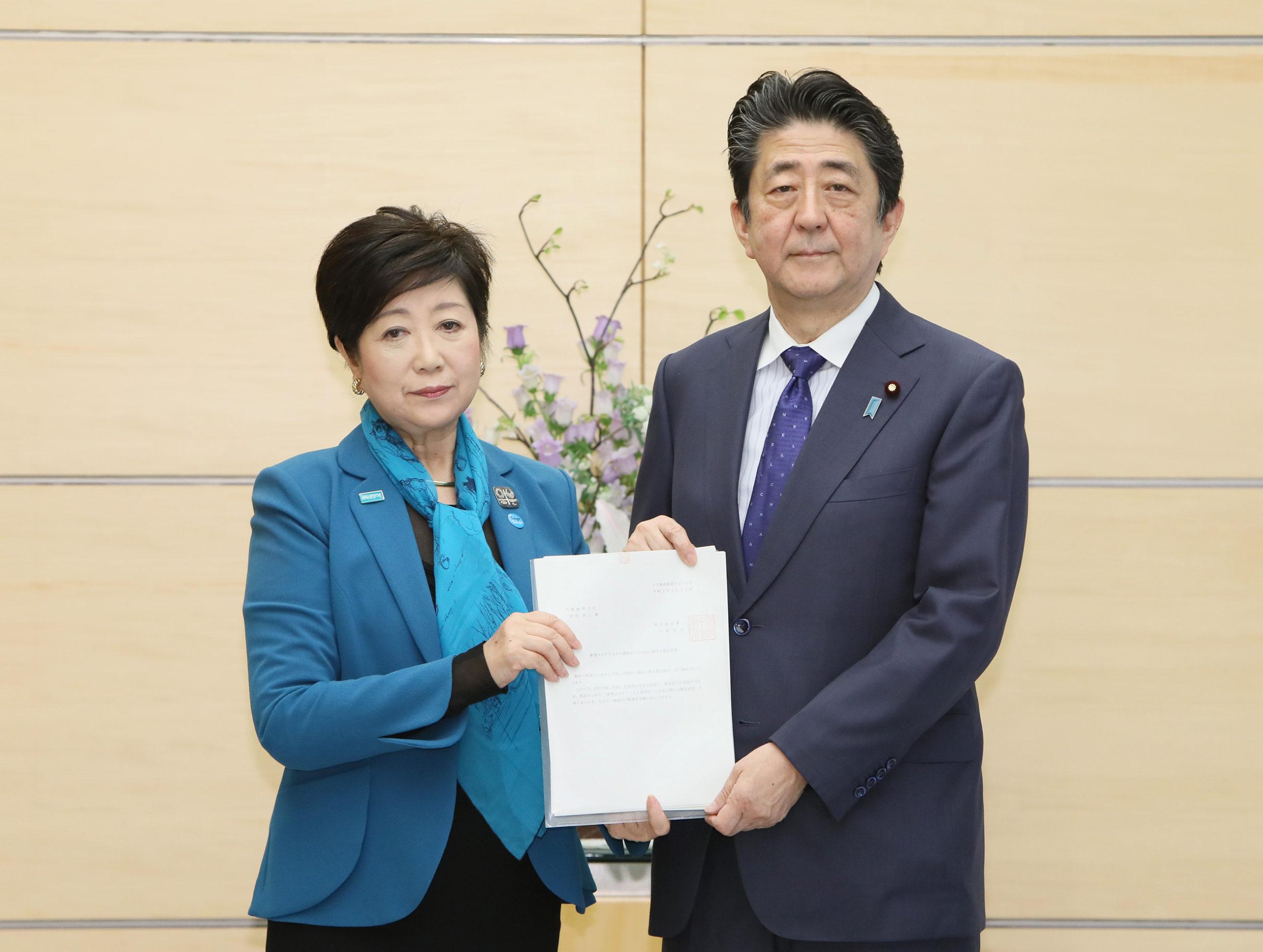 首相動静(3月12日)