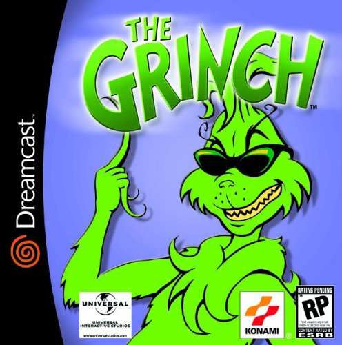 The Grinch Sega Dreamcast COMPLETE Game For Dreamcast