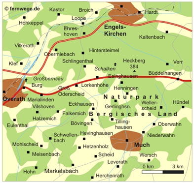 Drabenderhöhe-Overath
