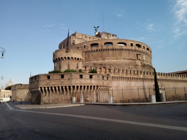 Castillo de Sant'Angelo. Roma