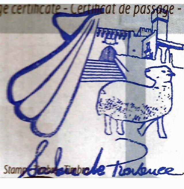 Sello de Salon de Provence