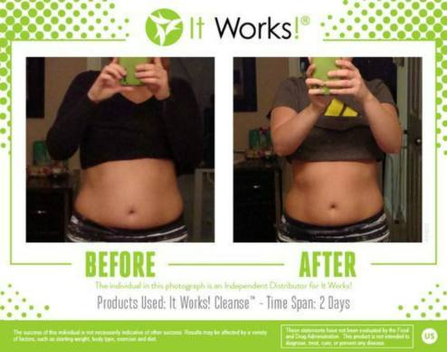 cleanse results