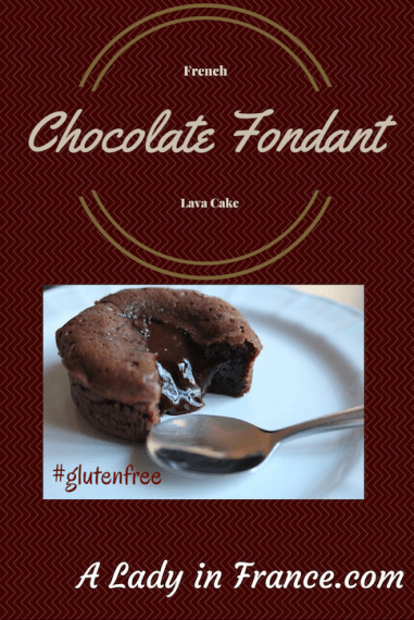 Recipe for #glutenfree #chocolate fondant with @aladyinfrance