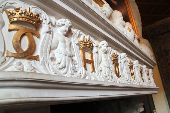 The mantels.