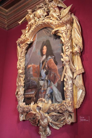 The paintings (Louis XIV).
