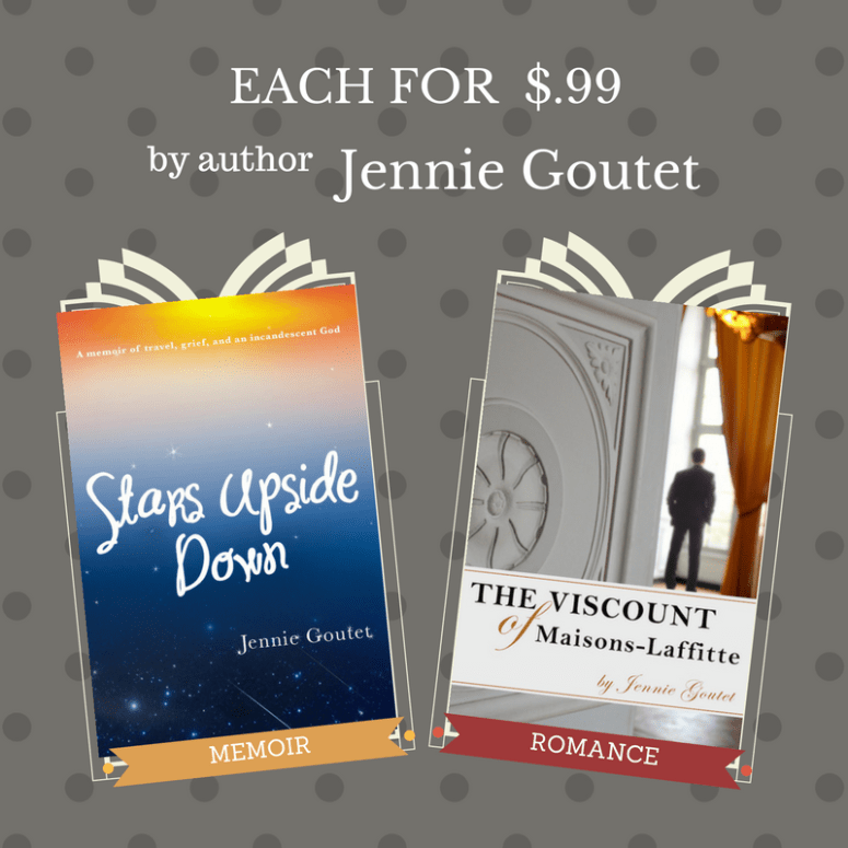 Memoir and clean romance on sale through Sunday! Links in the post.